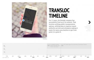 Inside TransLoc's Efforts to Simplify Public Transit Grids in Metro Areas: https://www.exitevent.com/2016/11/inside-translocs-efforts-to-simplify-public-transit-grids-in-metro-areas/