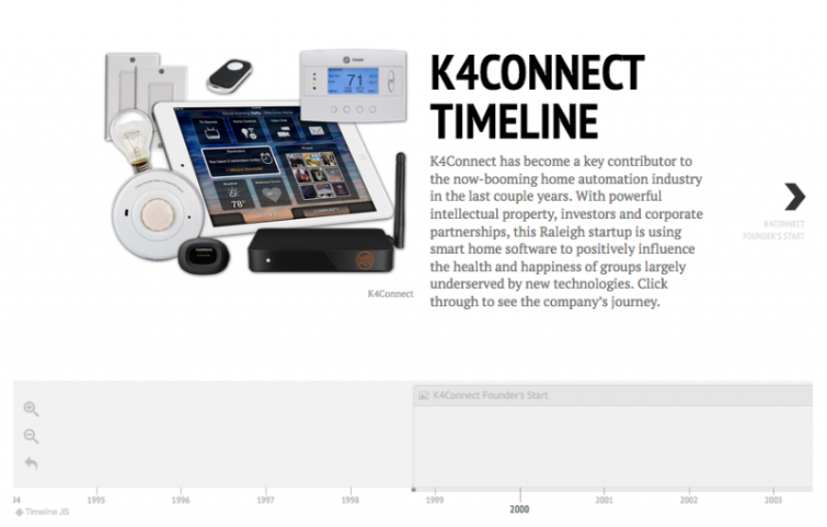 Raleigh IoT Startup K4Connect Raises Even More Capital, Continuing Trend of Upward Growth: https://www.exitevent.com/2016/10/raleigh-iot-startup-k4connect-raises-even-more-capital-continuing-trend-of-upward-growth/